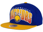 San Francisco Warriors  Mitchell and Ness NBA Double Bonus Snapback Cap Adjustable Hats