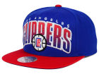 Los Angeles Clippers Mitchell and Ness NBA Double Bonus Snapback Cap Adjustable Hats