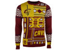 Cleveland Cavaliers Forever Collectibles NBA Men's Patches Ugly Sweater Sweatshirts