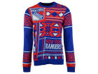 New York Rangers Forever Collectibles NHL Men's Patches Ugly Sweater Sweatshirts