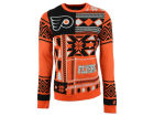 Philadelphia Flyers Forever Collectibles NHL Men's Patches Ugly Sweater Sweatshirts