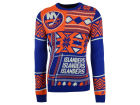 New York Islanders Forever Collectibles NHL Men's Patches Ugly Sweater Sweatshirts