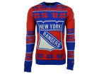 New York Rangers Forever Collectibles NHL Men's Big Logo Ugly Sweater Sweatshirts
