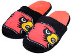 Louisville Cardinals Forever Collectibles Big Logo Slippers Apparel & Accessories