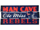 Mississippi Rebels Legacy Plank Wood Sign Collectibles