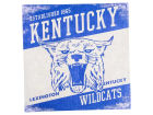 Kentucky Wildcats Legacy 14x14 Vintage Mascot Wall Art Collectibles