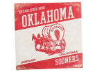 Oklahoma Sooners Legacy 14x14 Vintage Mascot Wall Art Collectibles