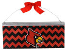 Louisville Cardinals Legacy 12x5 Small Bow Tin Sign Collectibles