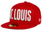 St. Louis Cardinals New Era MLB Big GPS 59FIFTY Cap Fitted Hats