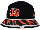 Cincinnati Bengals New Era NFL Team Stripe Bucket Hats
