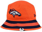 Denver Broncos New Era NFL Team Stripe Bucket Hats