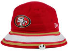San Francisco 49ers New Era NFL Team Stripe Bucket Hats