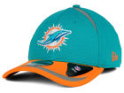 Miami Dolphins New Era NFL Reflective 2 Tone 39THIRTY Cap Stretch Fitted Hats