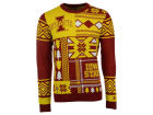 Iowa State Cyclones Forever Collectibles NCAA Men's Patches Ugly Sweater Fleece