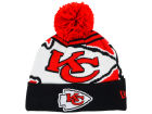 Kansas City Chiefs New Era NFL Logo Whiz Knit Hats