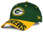 Green Bay Packers New Era NFL Word Pin 2 Tone 9FORTY Cap Adjustable Hats