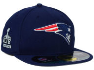 New Era NFL Super Bowl XLIX Champ Patch 59FIFTY Cap Fitted Hats