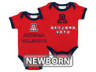 Arizona Wildcats NCAA Newborn 2 Pack Contrast Creeper Infant Apparel