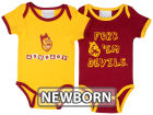 Arizona State Sun Devils NCAA Newborn 2 Pack Contrast Creeper Infant Apparel