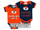 Auburn Tigers NCAA Newborn 2 Pack Contrast Creeper Infant Apparel