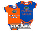 Florida Gators NCAA Newborn 2 Pack Contrast Creeper Infant Apparel