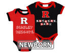 Rutgers Scarlet Knights NCAA Newborn 2 Pack Contrast Creeper Infant Apparel
