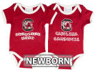 South Carolina Gamecocks NCAA Newborn 2 Pack Contrast Creeper Infant Apparel