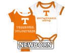 Tennessee Volunteers NCAA Newborn 2 Pack Contrast Creeper Infant Apparel