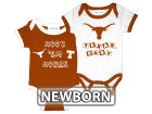 Texas Longhorns NCAA Newborn 2 Pack Contrast Creeper Infant Apparel