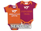 Virginia Tech Hokies NCAA Newborn 2 Pack Contrast Creeper Infant Apparel