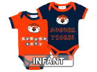 Auburn Tigers NCAA Infant 2 Pack Contrast Creeper Infant Apparel
