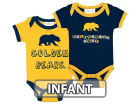 California Golden Bears NCAA Infant 2 Pack Contrast Creeper Infant Apparel
