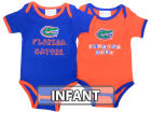 Florida Gators NCAA Infant 2 Pack Contrast Creeper Infant Apparel