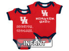 Houston Cougars NCAA Infant 2 Pack Contrast Creeper Infant Apparel