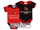 Louisville Cardinals NCAA Infant 2 Pack Contrast Creeper Infant Apparel
