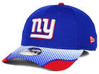 New York Giants New Era NFL Screen Vize 39THIRTY Cap Stretch Fitted Hats
