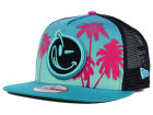 YUMS Miami Palm Trucker 9FIFTY Snapback Cap Adjustable Hats