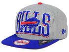 Buffalo Bills New Era NFL Heather Wordmark 9FIFTY Snapback Cap Adjustable Hats