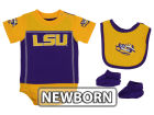 LSU Tigers Outerstuff NCAA Newborn Lil Jersey Set Outfits
