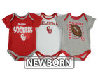 Oklahoma Sooners Outerstuff NCAA Newborn 3 Point Spread Set Outfits