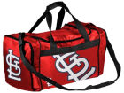 St. Louis Cardinals Forever Collectibles Striped Core Duffle Bag Luggage, Backpacks & Bags