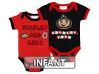 Ohio State Buckeyes NCAA Infant 2 Pack Contrast Creeper Infant Apparel