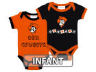 Oklahoma State Cowboys NCAA Infant 2 Pack Contrast Creeper Infant Apparel