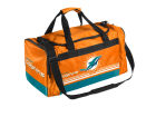 Miami Dolphins Forever Collectibles Striped Core Duffle Bag Luggage, Backpacks & Bags