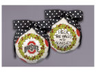 Ohio State Buckeyes Wreath Ornament Holiday