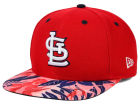 St. Louis Cardinals New Era MLB Floral Viz 9FIFTY Snapback Cap Adjustable Hats