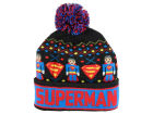 DC Comics Superman Youth Intarsia Cuffed Knit Hats