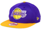 Los Angeles Lakers New Era NBA HWC Jersey Gamer 9FIFTY Snapback Cap Adjustable Hats