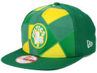 Boston Celtics New Era NBA HWC Cut & Paste 9FIFTY Snapback Cap Adjustable Hats