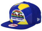 Denver Nuggets New Era NBA HWC Cut & Paste 9FIFTY Snapback Cap Adjustable Hats